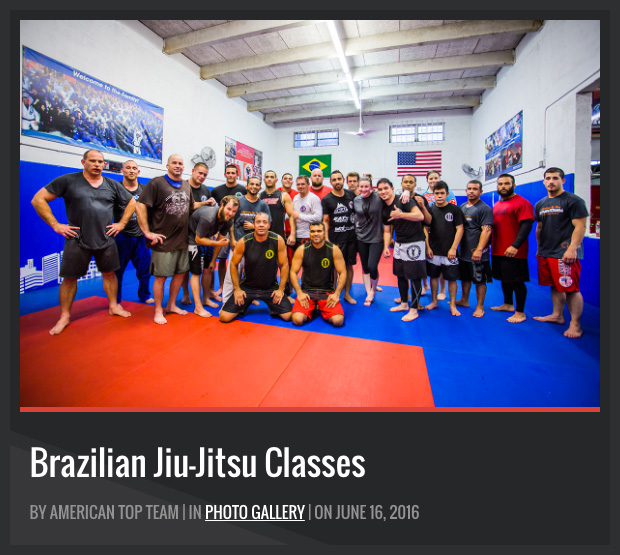 brazilian jiu-jitsu team