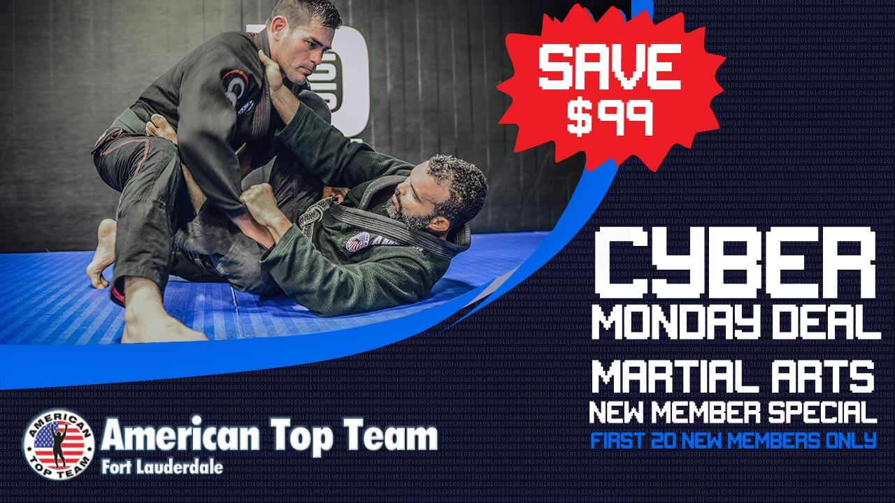 martial arts cyber monday promo