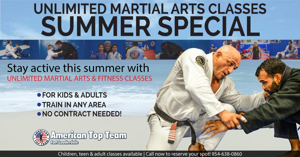 summer martial arts classes