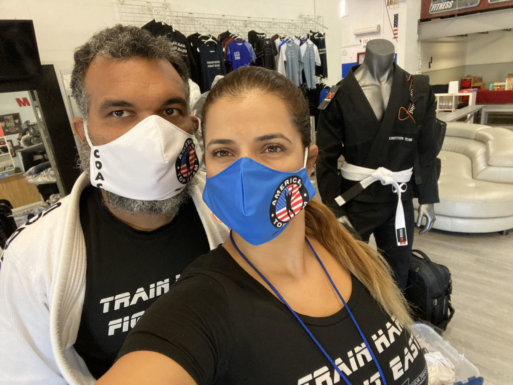 Owners of American Top Team Fort Lauderdale - Keeping Safe During COVID