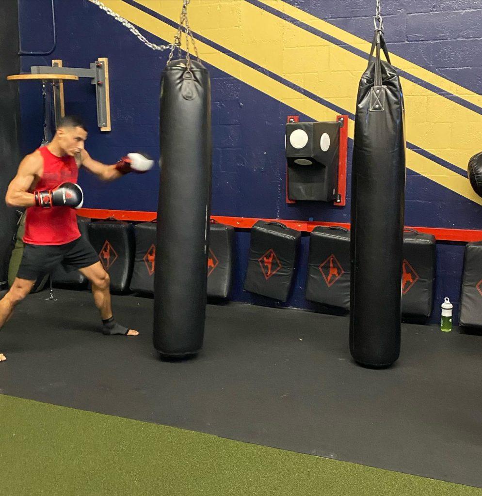 workout at ATT Fort Lauderdale