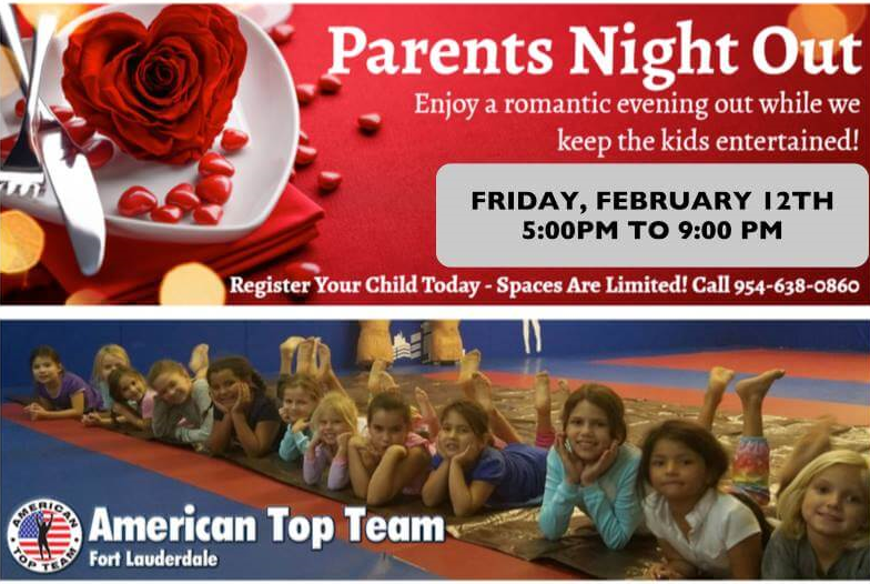 Parents Night Out- St Valentines